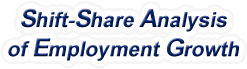 Shift-Share Analysis of Texas Employment Growth and Shift Share Analysis Tools for Texas